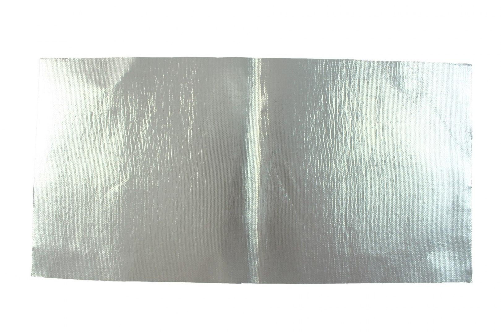 Mata termiczna TurboWorks -Aluminiowa- 30x60cm, 0.8mm Samoprzylepna - GRUBYGARAGE - Sklep Tuningowy